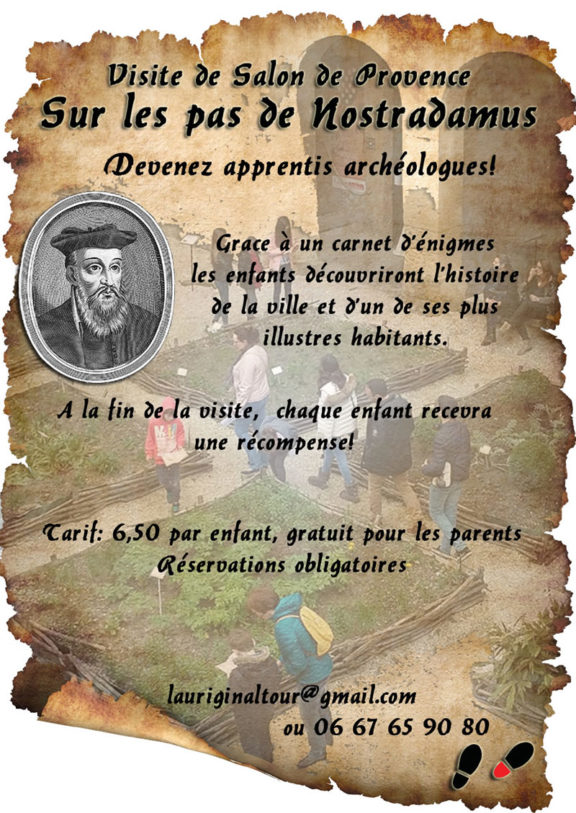Sur les pas de Nostradamus – Salon de Provence