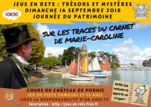 Sur les traces du carnet de Marie-Caroline
