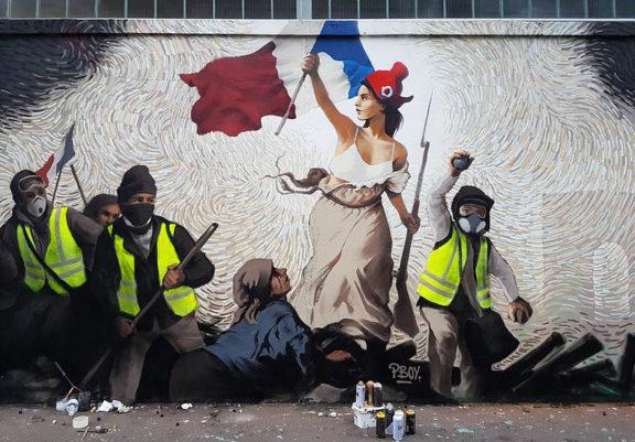 Liberté guidant le peuple 2019 - Pascal Boyart