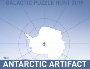 Galactic Puzzle Hunt 2019 - The Antarctic Artifact