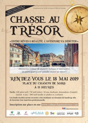 Colmar : entre rêves & réalités, l'aventure va débuter - Chasse au trésor