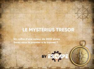 Le Mysterius Trésor - Deuxième édition de la chasse au trésor