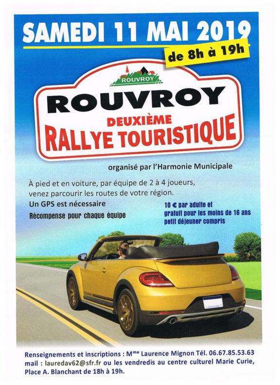Rallye touristique de Rouvroy - Édition 2019