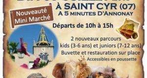 3ème chasse au trésor à Saint Cyr - Ardèche