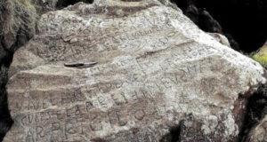 De mystérieuses inscriptions sur un rocher : 2 000 € à qui saura les déchiffrer !