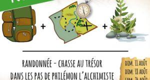 Randonnée - Chasse au trésor dans les pas de Philémon l'alchimiste
