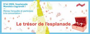 Lyon : le trésor de l'esplanade Mandela