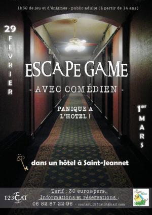 Escape game à l'hôtel