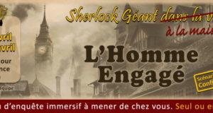 L'Homme Engagé - Sherlock Holmes à la maison
