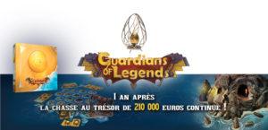 Guardians of Legends : un an de chasse au trésor