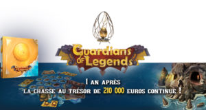 Guardians of Legends : un an de chasse au trésor