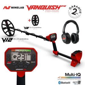 Détecteur de métaux Minelab Vanquish 540 Pro Pack