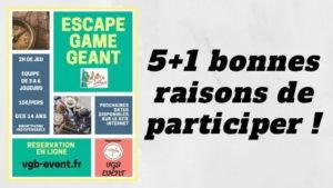 Escape game géant en Isère