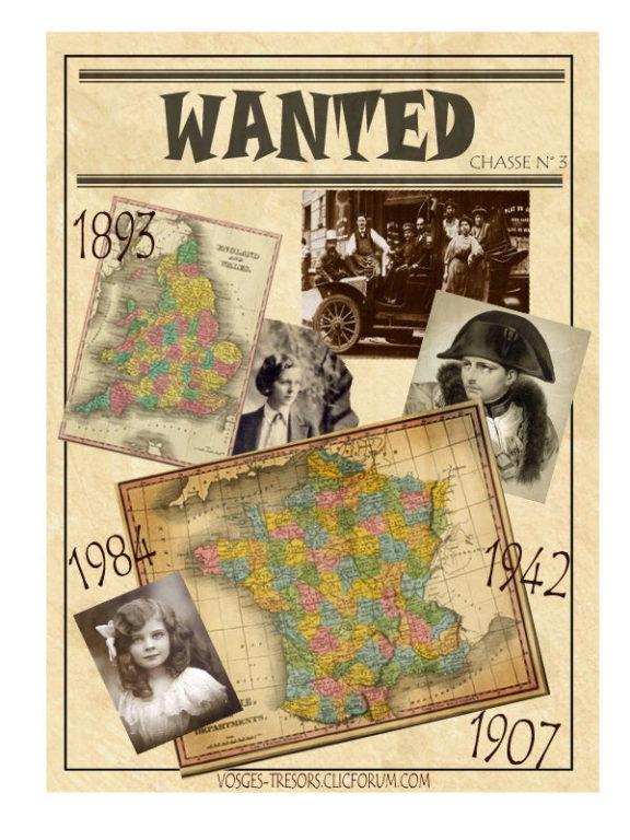 Wanted - La chasse au trésor