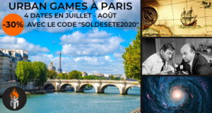Paris Urban Games Masterio