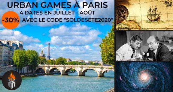 Paris Urban Games Masterio
