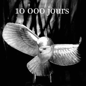 10 000 jours de l'enfouissement de la Chouette d'Or, Michel Becker discute avec les Chouetteurs