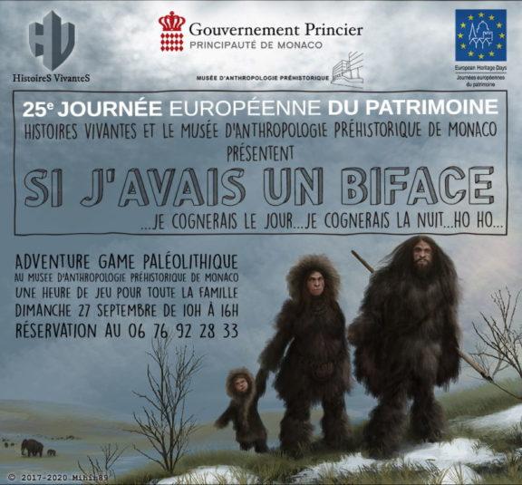 Adventure game au musée d'anthropologie préhistorique de Monaco
