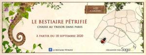 Paris - Le Bestiaire Pétrifié - Chasse au Trésor
