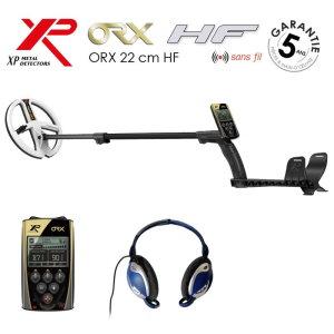 Détecteur de métaux XP ORX 22 et casque filaire XP