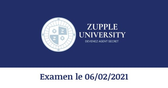 Zupple University - Devenez agents secrets