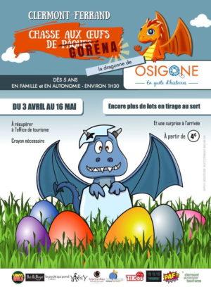 Chasse aux œufs de Pâques à Clermont-Ferrand