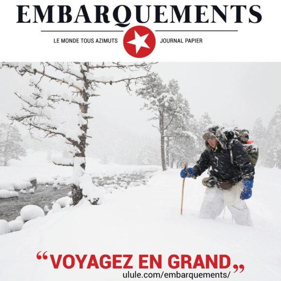 Embarquements : journal dédié au voyage, à l'exploration, à l'aventure et aux découvertes