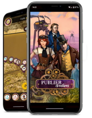 Publier Aventures - Jeu de piste smartphone