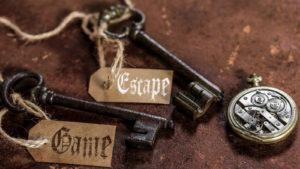 Escape game - Clefs