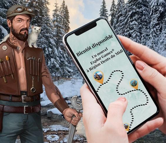 Un Explor Games® à la Station Région Dents du Midi