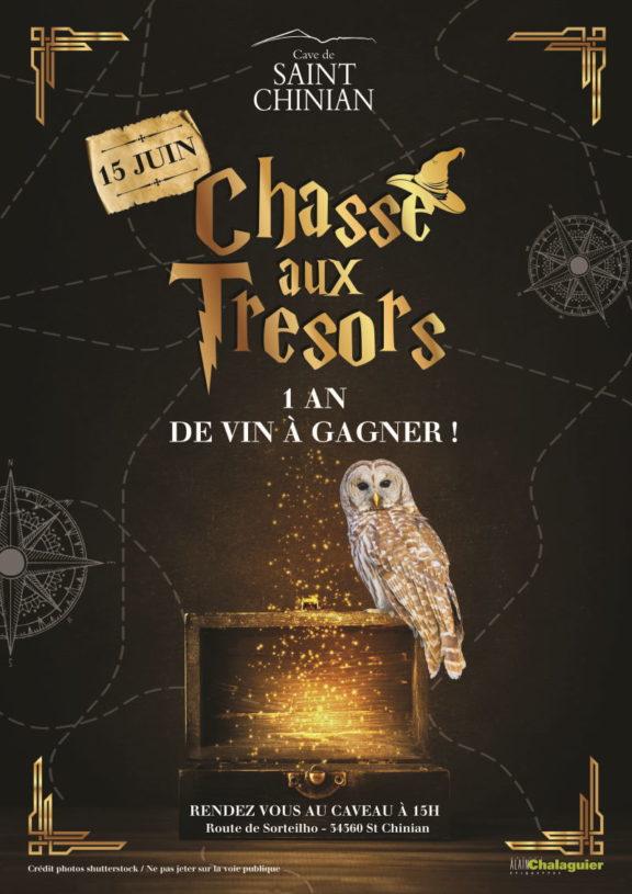 Chasse au trésor de la Cave de Saint-Chinian