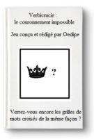 Chasse au trésor Verbicrucie : le couronnement impossible