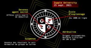 Devenir Agent Secret - Zupple University