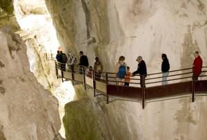 Les grottes de Saint Christophe la Grotte