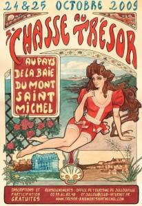 Chasse au trésor de la Baie du Mont Saint Michel